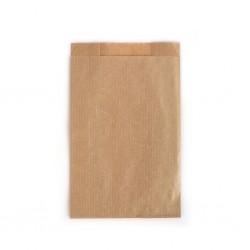 Çizgili Şamua Baskısız Kese Kağıdı 12x20 cm
