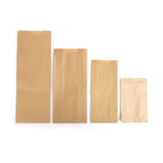 Çizgisiz Şamua Baskısız Kese Kağıdı 15x33 cm