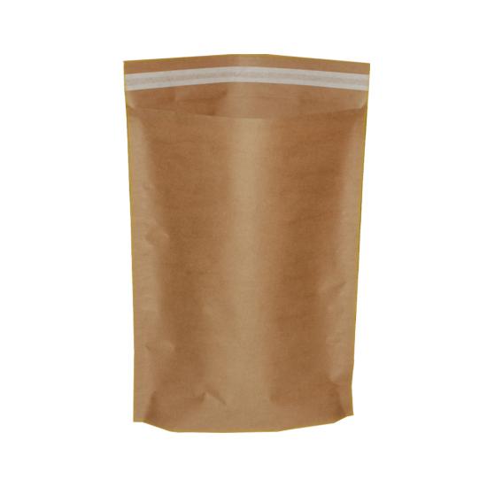 Kraft Kağıt Bantlı Hediye Poşeti (34x45) CM