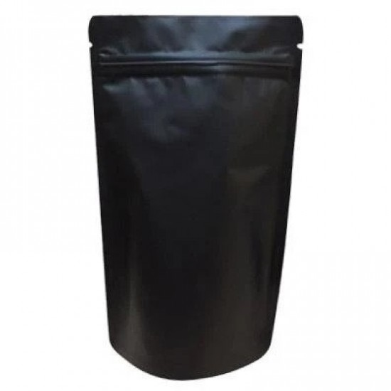 Mat Siyah Alüminyum Doypack (16x27)