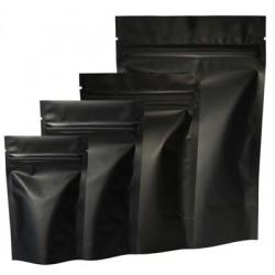 Mat Siyah Alüminyum Doypack (11x18,5)