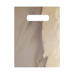El Geçmeli Metalize Hediye Poşeti (18x25) 100 Adet