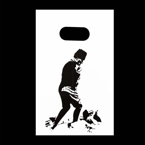 Atatürk Baskılı Hediye Poşeti (13x20) 100 Adet