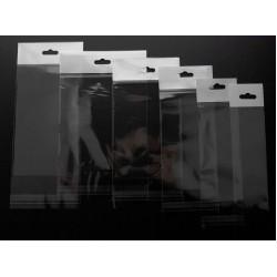 Askılı Şeffaf Bantlı Poşet (20x25+10) 1.000 Adet