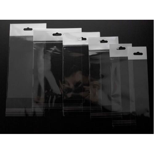 Askılı Şeffaf Bantlı Poşet (20x35) 1.000 Adet