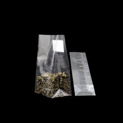 Şeffaf Kare Tabanlı Poşet (10x30)