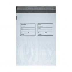 Baskısız Cepli Kargo Poşeti Gönderici-Alıcı Baskılı 25x30+5 cm