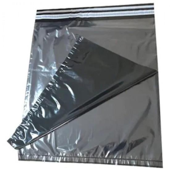 Baskısız Şeffaf Siyah Kargo Poşeti 29x40+5 cm