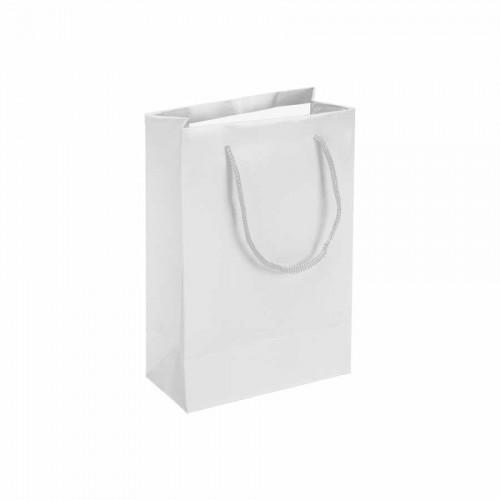 Beyaz Karton Çanta (14x17) cm. 25 Adet