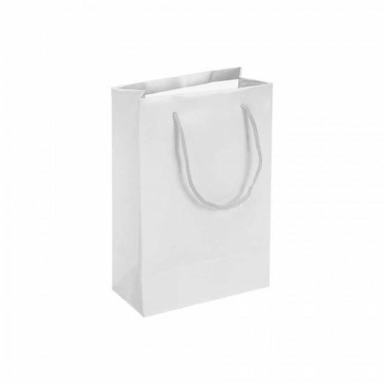 Beyaz Karton Hediye ve Parti Çantası (14x17) 25 Adet