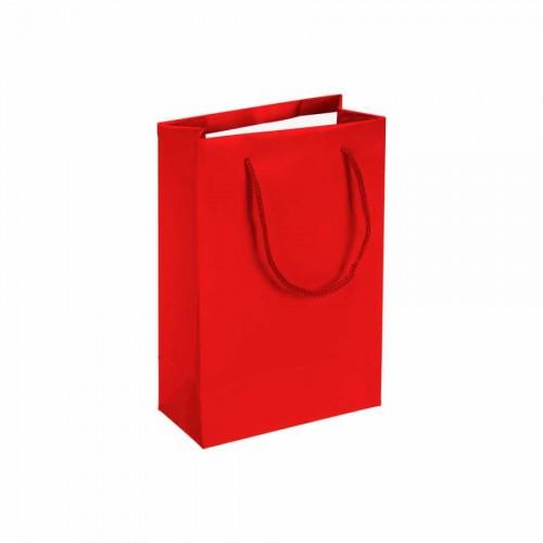Kırmızı Karton Çanta (14x17) cm. 25 Adet