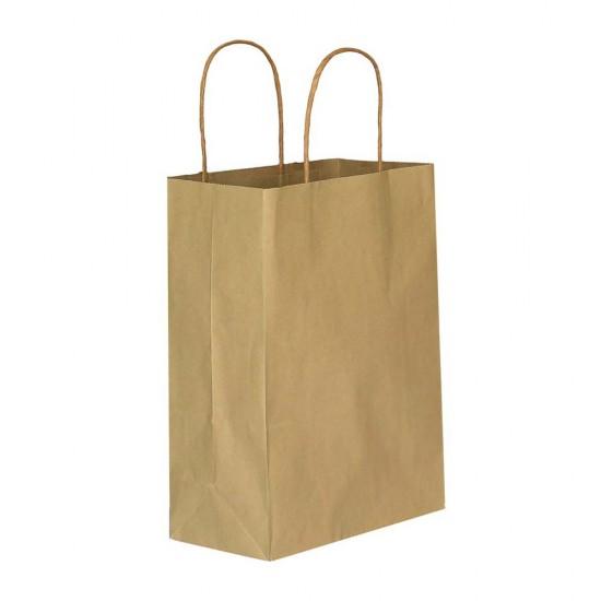Kraft Kağıt Hediye ve Alışveriş Çantası (18x8x24) 25 Adet