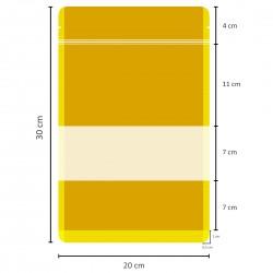 Pencereli Kağıt Doypack (20x30)