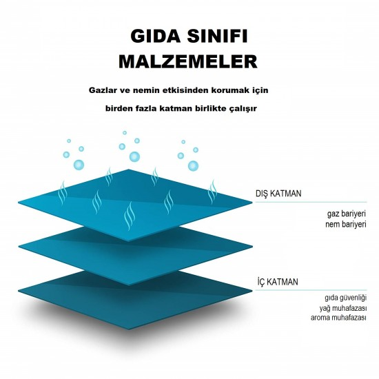 Şeffaf Metalize Doypack (14x19)